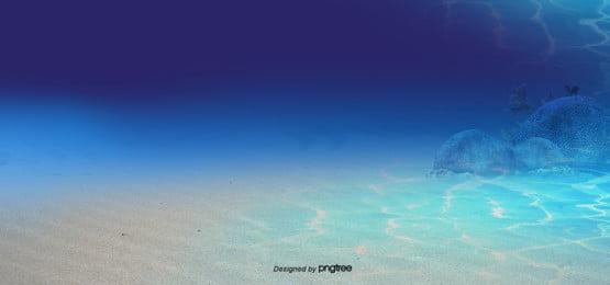 blue gradient underwater background , Bubble, Underwater Background, Ripple Background image