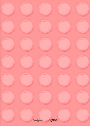 coral color hand painted circular pattern background , Pattern, Circular, Hand Painted Background image