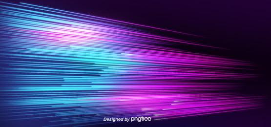 kreatif garis gradien neon latar belakang , Tiga-dimensi, Dua-dimensi, Latar Belakang Kreatif imej latar belakang
