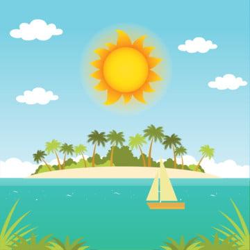 nắng bãi biển , Nền, Bãi Biển, Ban Ngày. Ảnh nền