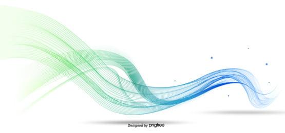 hijau biru gradien lukisan tangan gaya indah suasana perniagaan latar belakang garis , Tidak Teratur, Jumlah Akal, Perniagaan imej latar belakang