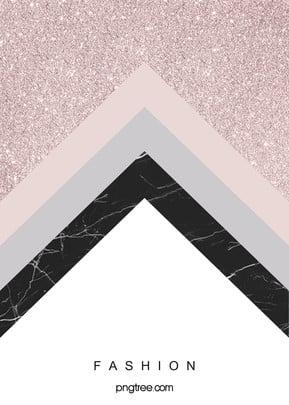 Rose Gold Geometric Edge And Corner Background, Triangle, Irregularity, Geometric, Background image