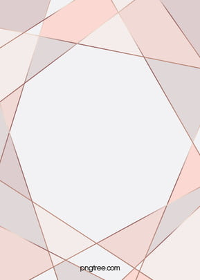 Rose Gold Geometric Edge And Corner Background, Triangle, Irregularity, Creative, Background image