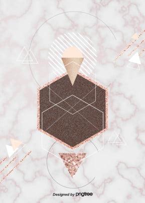 गुलाब गोल्ड संगमरमर पृष्ठभूमि , ज्यामिति, संगमरमर, सार पृष्ठभूमि छवि