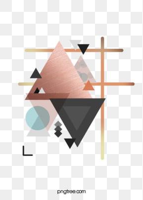 गुलाब गोल्ड ज्यामितीय किनारों और कोनों रचनात्मक पृष्ठभूमि त्रिकोण ज्यामिति रचनात्मक पृष्ठभूमि छवि