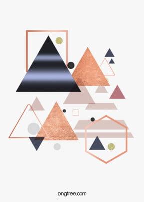 गुलाब गोल्ड ज्यामितीय किनारों और कोनों रचनात्मक पृष्ठभूमि ज्यामिति रचनात्मक प्रकृति पृष्ठभूमि छवि