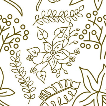 फूल पत्ती पैटर्न निर्बाध वेक्टर टेम्पलेट , सार, Aloha, पृष्ठभूमि पृष्ठभूमि छवि
