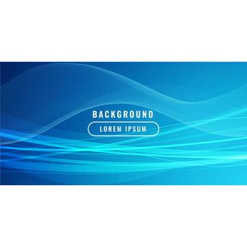 抽象藍色波浪商業風格背景 , 背景, 藍色, 抽象 背景圖片