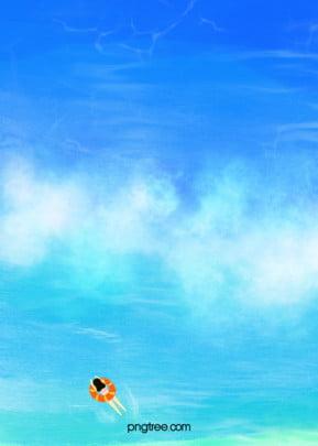 background of ocean water ripple in summer , Summertime, Wave, Ocean Background image