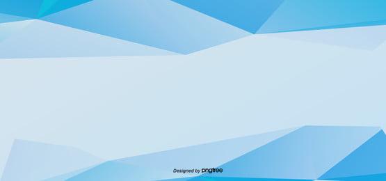 青い立体感のbanner, Buner, 幾何学, だんだん変わっていく 背景画像