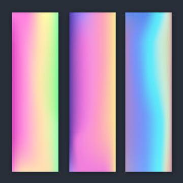 cor holográfica borrada , Fundo, Banner, Blur Imagem de fundo