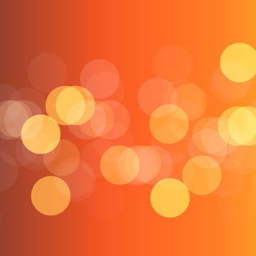 ánh sáng bokeh trong nền màu cam dốc , Abstract, Nền, Nền Ảnh nền