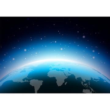 पृथ्वी चित्रण के साथ नीले ग्रह है । दुनिया के नक्शे या दुनिया पृष्ठभूमि अवधारणा है । वेक्टर डिजाइन के लिए बैनर पोस्टर या ग्रीटिंग कार्ड , सार, पृष्ठभूमि, बैनर पृष्ठभूमि छवि
