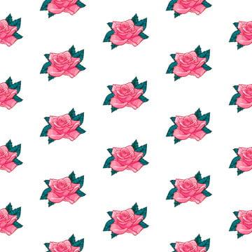 花卉背景 花玫瑰無縫圖案 向量花玫瑰無縫圖案 , 摘要, 藝術, 背景 背景圖片
