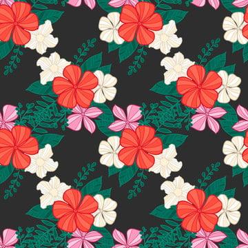 무늬 꽃 원활한 모드 , 다이제스트, 예술, 작품 배경 이미지