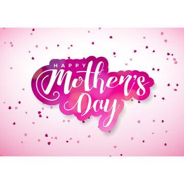 ピンクのグリッターの背景にハッピー母の日の願い 抄録 背景 旗 背景画像