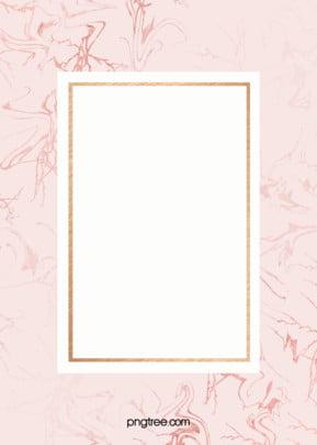 ピンクのローズゴールド大理石のフレームの背景 , 大理石, 結婚式, バラの金 背景画像