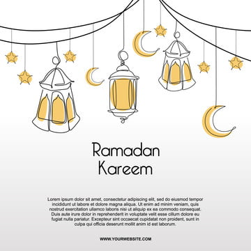 desenho minimalista do banner ramadan kareeem desenho da lanterna , Árabe, Arabian, árabe Imagem de fundo