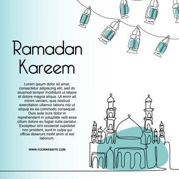 ramadan kareem modern line art vẽ tiếp tục một đường thiết kế nhỏ nhất thiết kế mẫu cho muslim , Abstract, Của Người Á Rập, Tiếng Ả Rập. Ảnh nền
