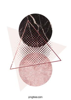 गुलाब गोल्ड ज्यामितीय किनारों पृष्ठभूमि , त्रिकोण, ज्यामिति, रचनात्मक पृष्ठभूमि छवि