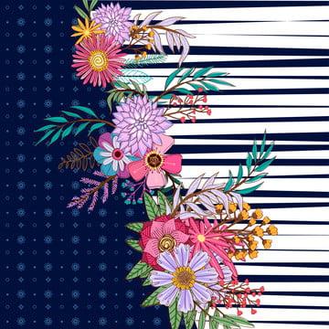 花模様模様 , アクセサリー, アクセサリー, アート 背景画像