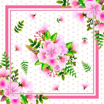 Scarf Floral Pattern Design, Ornamental, Floral, Shawl, Background image