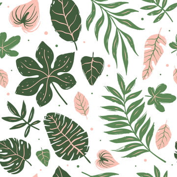 seamless pattern of tropical leaves , Seamless, Pattern, Tropical Background image