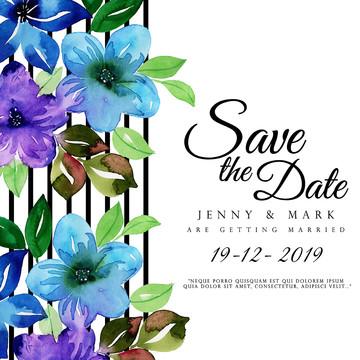 aguarela floral do convite do casamento , , Arte, Artística Imagem de fundo