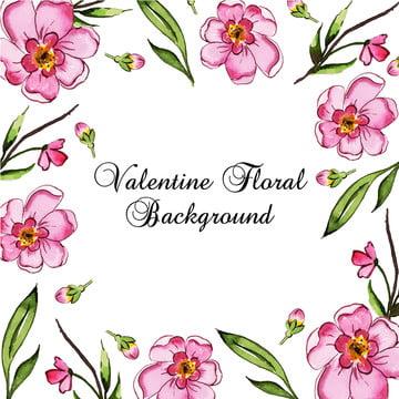 watercolour valentine nền , Màu Nước, Sơn, Sơn Ảnh nền