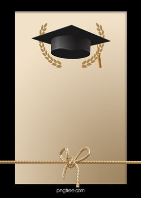 black and golden happy graduation hat background , Ribbon, Student, Graduation Background image
