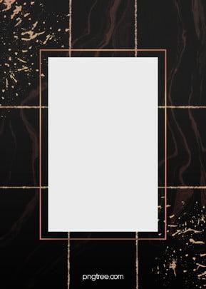 로즈 골드 대리석 테두리 검은 배경 , 대리석, 로즈 골드, 로즈 골드 테두리 배경 이미지