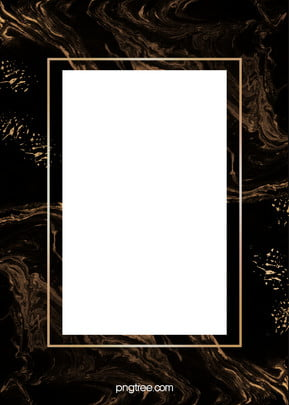 로즈 골드 대리석 테두리 검은 배경 , 대리석, 장미 금, 장미 금박 배경 이미지