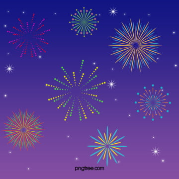 cartoon fireworks summer night spark club background , Night, Stars, Fireworks Background image