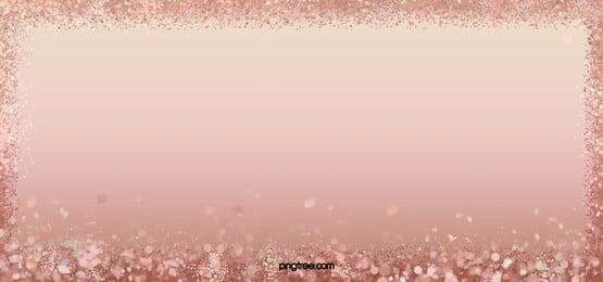 バラゴールドの破片の背景, Blingbling, 明るい, バラの金 背景画像