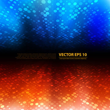 vector abstract perspective flyer or banner with color blue red , Banner, Vector, Background Background image