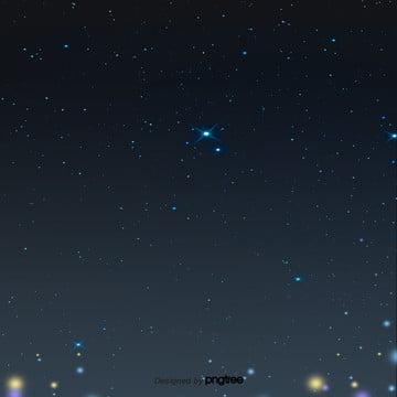 黒い夜の星空 , 唯美, シーン, 夜の夜 背景画像