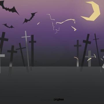 कार्टून हेलोवीन रात बल्ले पार , हेलोवीन, पार, कार्टून पृष्ठभूमि छवि