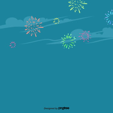 blue night sky background for cartoon fireworks , Flaky Clouds, Night Sky, Celebrating Background image
