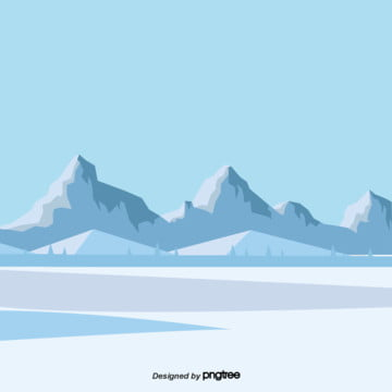 카톤 블루 빙하의 경치 , 빙산, 빙하, 얼음과 눈 배경 이미지
