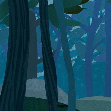 कार्टून नीले हेलोवीन वन दृश्य , हेलोवीन, कार्टून, दृश्य पृष्ठभूमि छवि