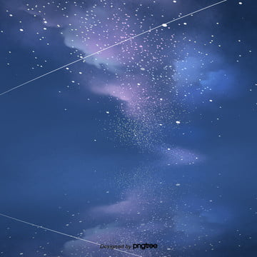 कार्टून नीले रात आकाश दृश्य , तत्वों, कार्टून, दृश्य पृष्ठभूमि छवि