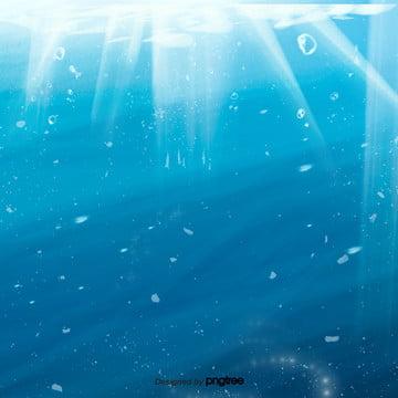 카톤 블루의 바다 , 발광하다., 바다, 해수 배경 이미지