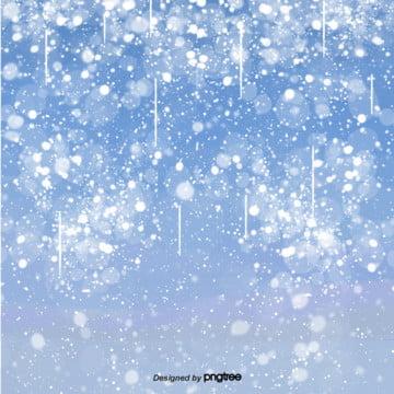cartoon blue snow winter scene , Snowing, Winter, Cartoon Background image
