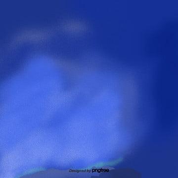 카통 안개 파란 하늘 풍경 , 원소, 만화, 정경 배경 이미지
