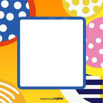 Cartoon padrão de decoração de Fundo Da caixa de texto Elementos Cartoon Padrão Imagem Do Plano De Fundo