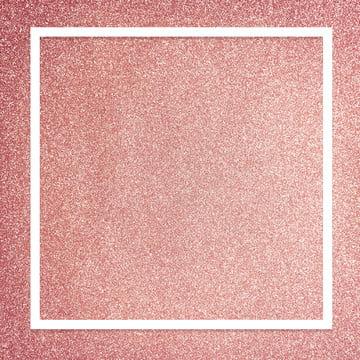 卡通粉色磨砂背景邊框 , 元素, 場景, 白色 背景圖庫