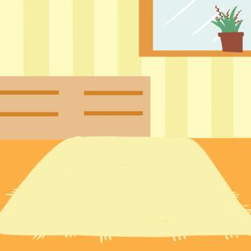 만화 간략한 실내 장면 , 원소, 만화, 침실 배경 이미지