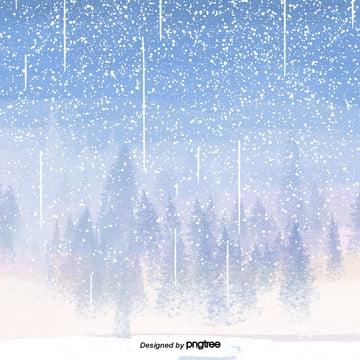 phim hoạt hình cảnh tuyết mùa đông , Tuyết Rơi, Mùa Đông, Hoạt Hình Ảnh nền