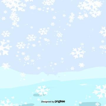 cartoon winter snow scene , Winter, Cartoon, Pattern Background image