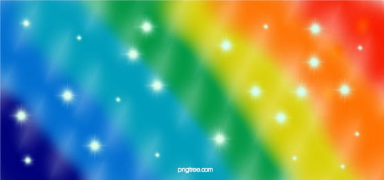 Dream Multicolor Creative Rainbow Background, Seven Colors, Creative, Colourful, Background image